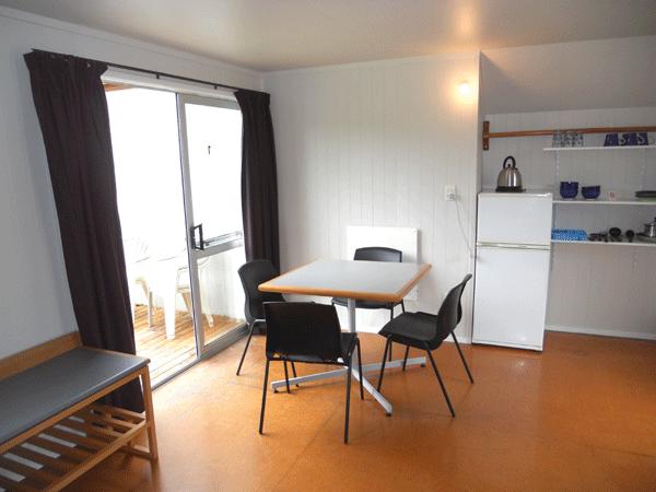 Medium cabin table/fridge