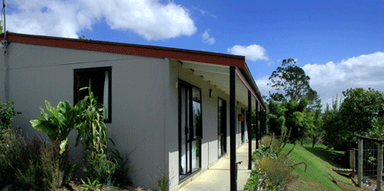 Small cabin exterior