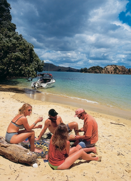 Bay of Islands beach