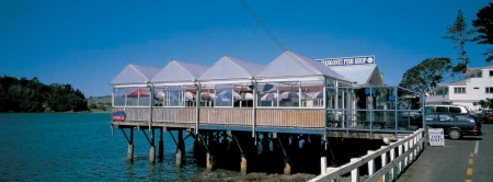 Mangonui Fish Shop - 30 mins from Kerikeri