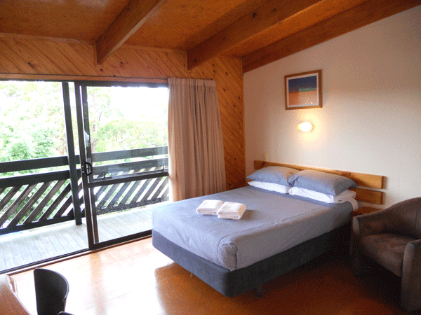 Bed in Park Motel and Studio Unit